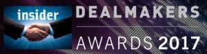 Coole Bevis LLP Company & Commercial team: Private Equity/Venture Capital Deal of the Year Awards 2017