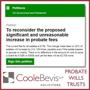 Probate Wills Trusts: Coole Bevis LLP, solicitors: Brighton, Horsham, Hove, Worthing: Sussex