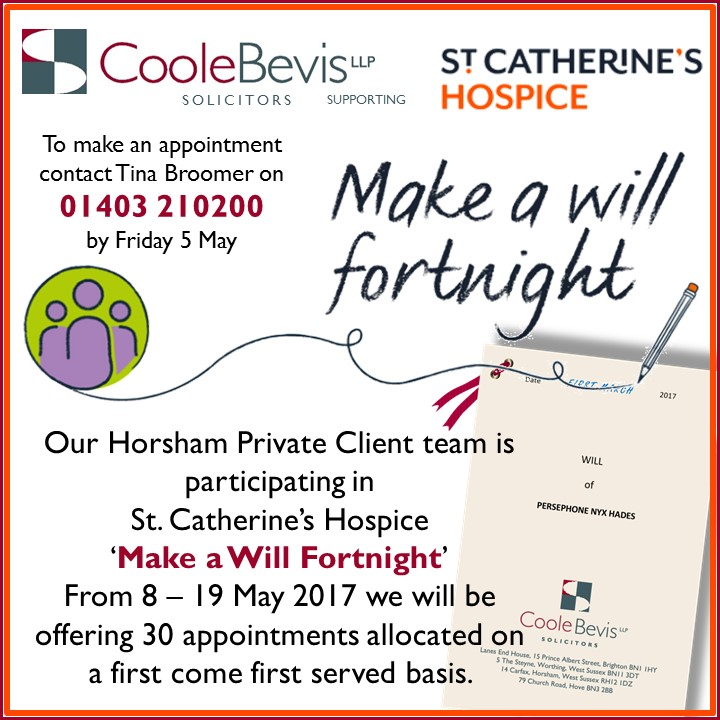 make a will fortnight